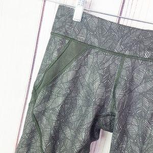 lululemon athletica Pants - Lululemon | Leaf Pattern Cropped style